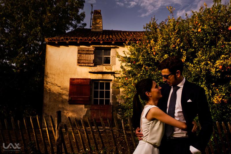Fotógrafo de boda en el País Vasco y San Sebastián. Castillo de Antoine d' Abbadie