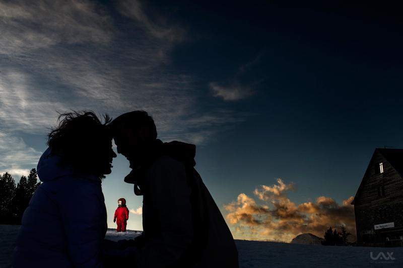 Fotografía artística de familia. Víctor Lax
