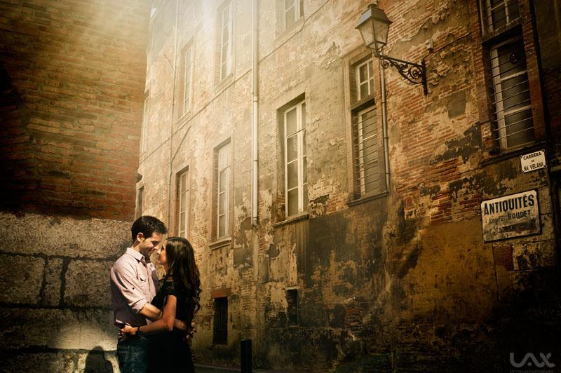 Fotografía creatriva y emocional de boda. Víctor Lax