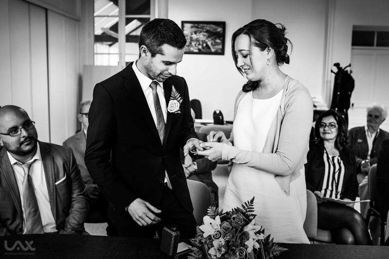 Photographe de mariage en France, Photographie documentaire mariages, Víctor Lax,