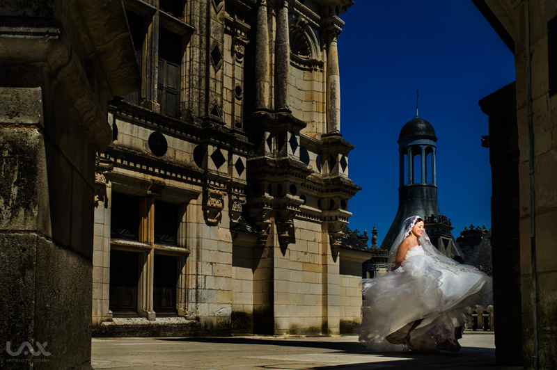 Paris wedding photographer, Loire Valley wedding photographer, Wedding Chambord Castle, wedding Chateau Chambord, Chateau Chambord wedding photographer, Victor Lax, Spain wedding photographer,