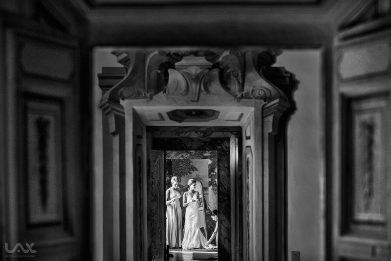 Tuscany wedding, Castello di Meleto, Castello di Meleto wedding, Tuscany wedding photographer, photographer Castello di Meleto, Wedding dress, bride and groom, Victor Lax,